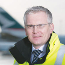 The airport's managing director Andrew Harrison