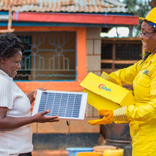 Azuri solar Cambridge Africa