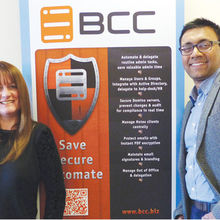 Stephanie Heit and Arshad Khalid of BCC Ltd