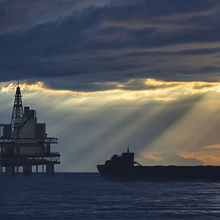 SOFRESUD oil rig in Africa. Photograph credit: istock.com/gremlin