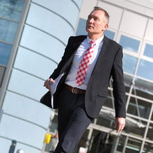 Christian Grondahl, outgoing CEO of Kymab at the Moneta Building at Babraham Research Campus