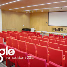 The Eagle symposium in The Kendrew Lecture Theatre at The EBI on Wellcome Trust Genome Campus, Hinxton