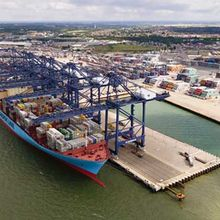 Berth 9 Felixstowe Port