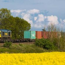 Train Felixstowe Network Rail Hutchinson Ports