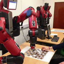 Baxter robots at the University of Hertfordshire