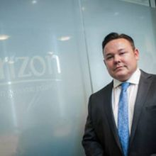 Horizon chief executive Dr Darrin Disley