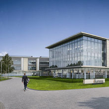 Illumina's proposed new building at Granta Park