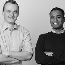 BIOS founders Oliver Armitage and Emil Hewage
