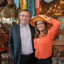 Martin Stead and Kim Kaewraikhot co-owners of Thai Leisure Group which is opening at Cambridge's Quayside in April 2015
