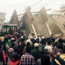 CBM UK helping most vulnerable people affected by the Nepal earthquake