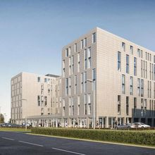 How the new Hampton by Hilton at Stansted Airport will look
