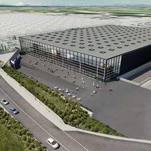 Stansted Airport new arrivals building