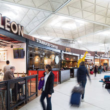 Leon at London Stansted Airport