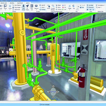 Software development apprentices at AVEVA will be able to work on technologies such as AVEVA Everything3D