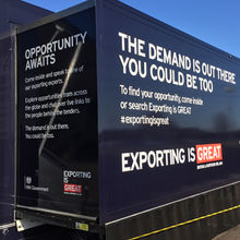 UKTI Exporting is Great roadshow
