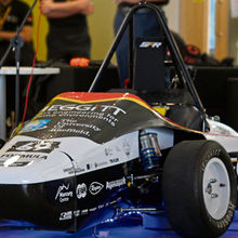 Sheffield University car for the Formula Student international competition