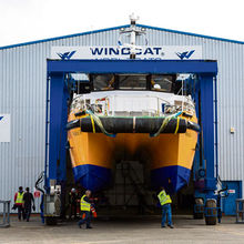 Windcat Workboats at the Port of Lowestoft