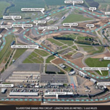 The Silverstone Grand Prix circuit